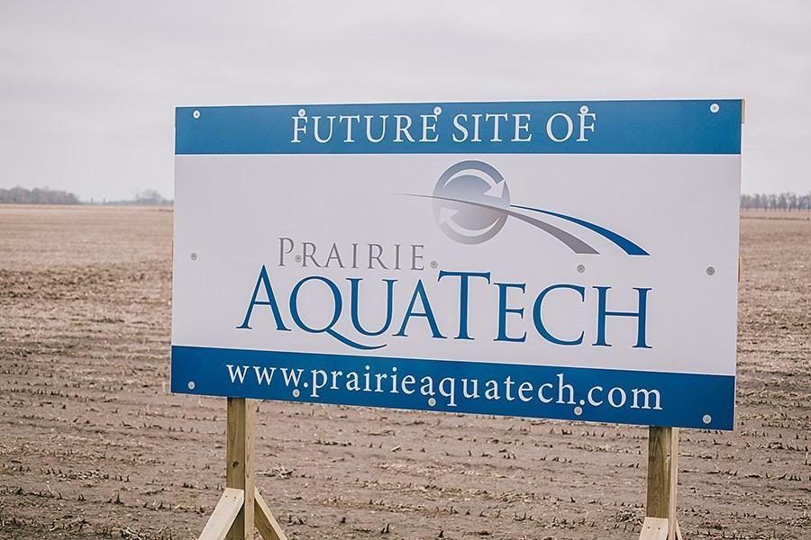 Prairie AquaTech's new plant will be built along U.S. Highway 14 on land near the South Dakota Soybean Processors plant. (HCPD.com photo)