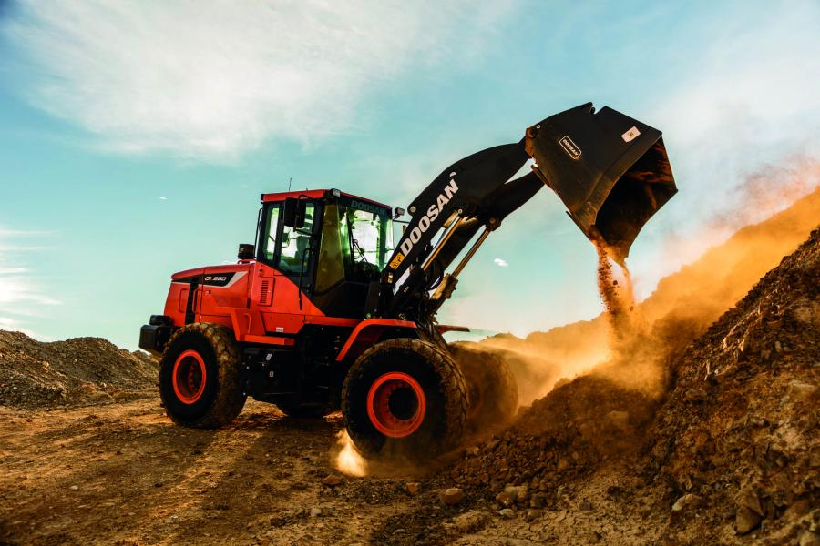 The Doosan DL280-5 is designed to provide operators with enhanced performance and comfort as well as increased uptime protection when working in general construction, scrap and waste-handling applications, according to the manufacturer.