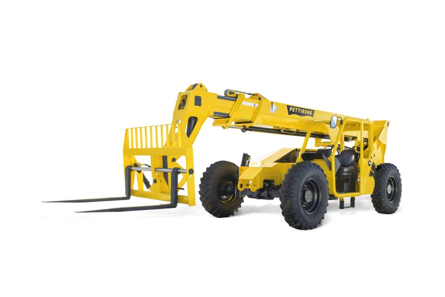 With its newly design boom, the 944X offers maximum lift capacity of 9,000 lbs. (4,082 kg), max forward reach of 30 ft. (9 m), and max lift height of 44 ft. 6 in. (13.5 m).
