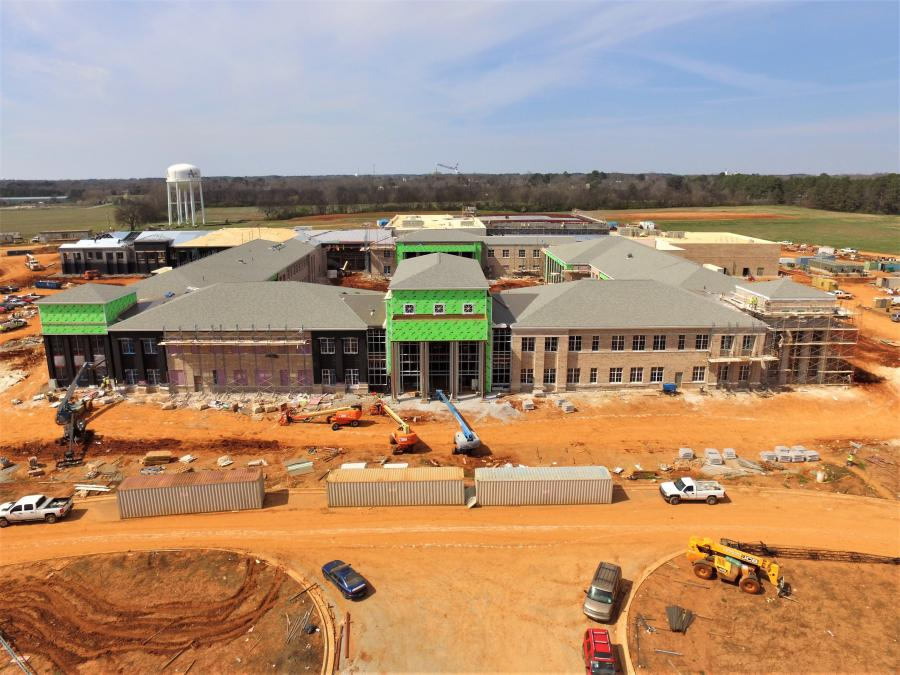 The new Athens High School will spur on a chain of educational facility changes, including a new fourth and fifth-grade specific school.