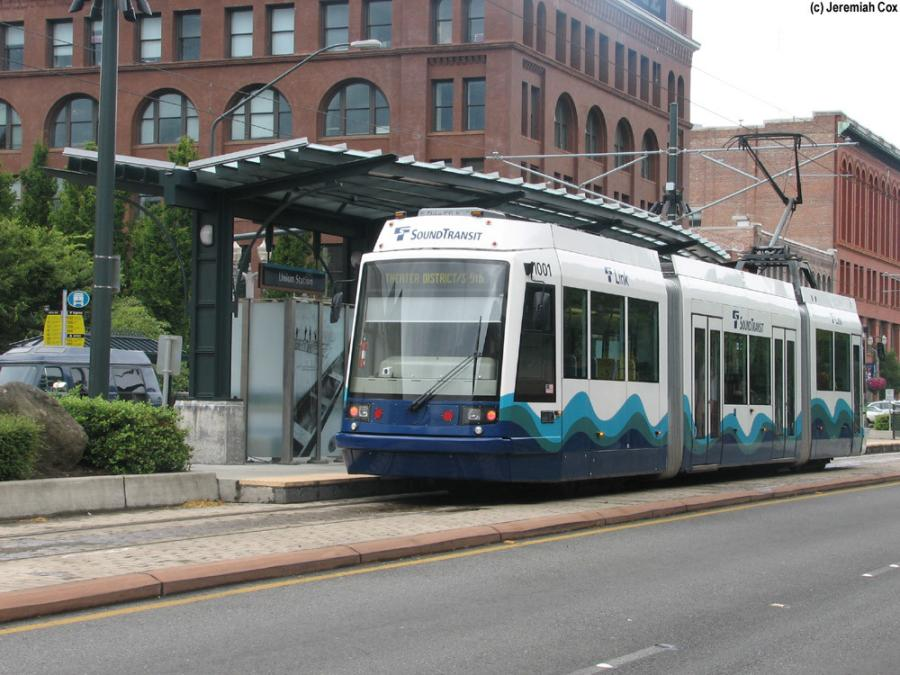 The 2.4-mile Tacoma Link Extension will add six new stations and five new light rail vehicles, doubling the length of the existing system.