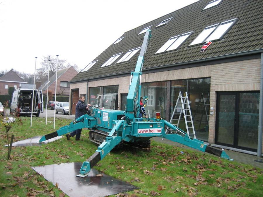 The MC305 is one of the Maeda models that will now be sold by All Erection & Crane Rental.
