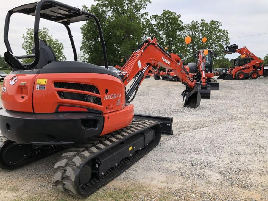 Brooks Sales recently took on the Kubota excavators and have plenty of the machines on hand.