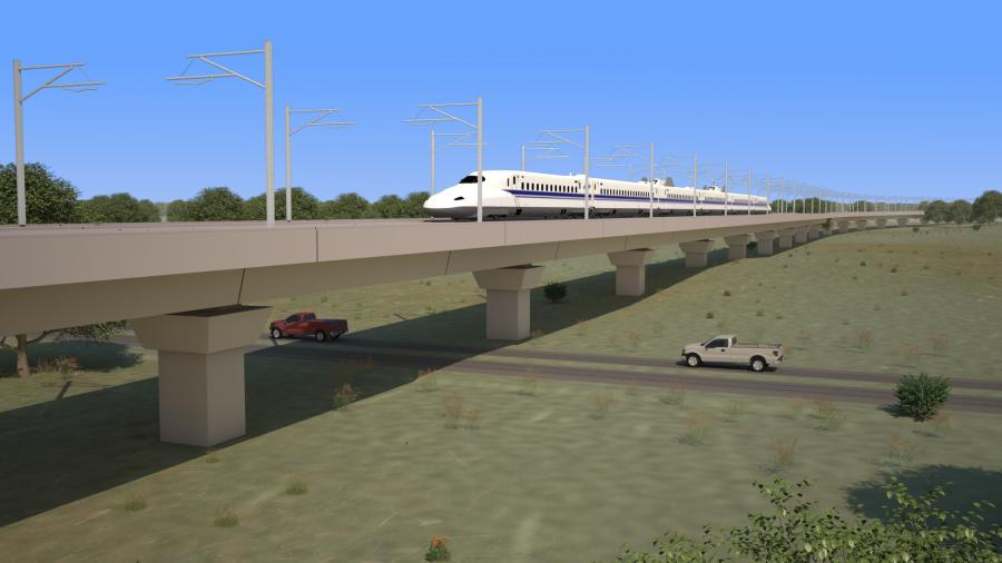 Bechtel will support Texas Central in managing the Texas Bullet Train project as it moves from development to implementation. (Texas Central photo)