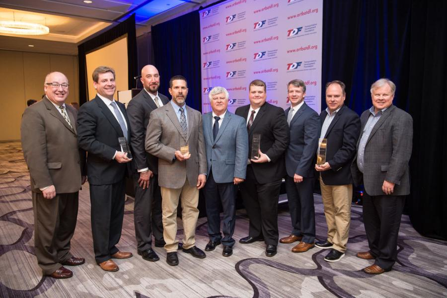 Contractor Safety Award winners
