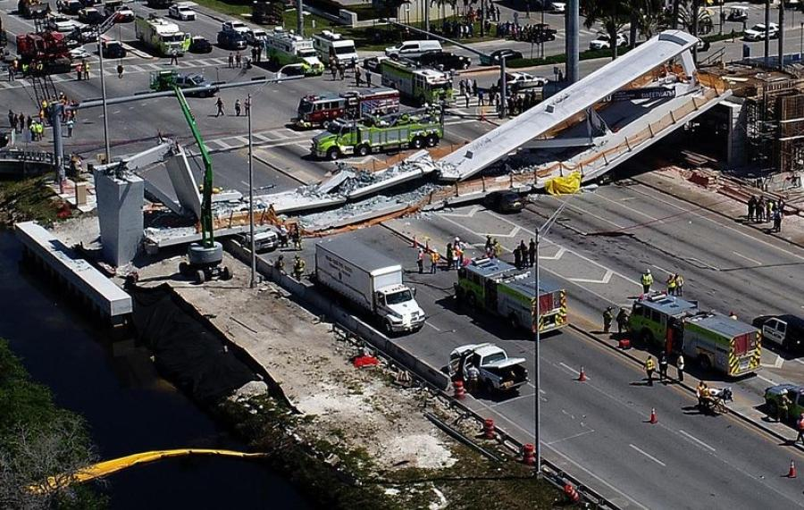 The NTSB released a preliminary report looking into the collapse of a pedestrian bridge in Florida that suggested investigators are focused on cracks in the south and north ends of the pedestrian bridge.