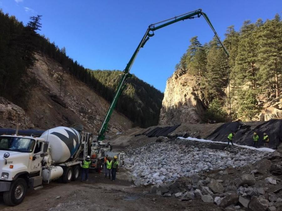 The $280 million project was a result of a flood in 2013, and included rerouting the highway through Big Thompson Canyon to separate it from the Big Thompson River, the Reporter-Herald reported. (Photo Credit: Colorado DOT)