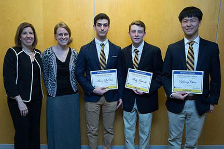 The team from The Haverford School won PennDot's Innovations Challenge.
