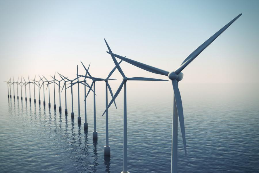 According to the company, the wind farm will be located in federal waters between Martha's Vineyard and Block Island.