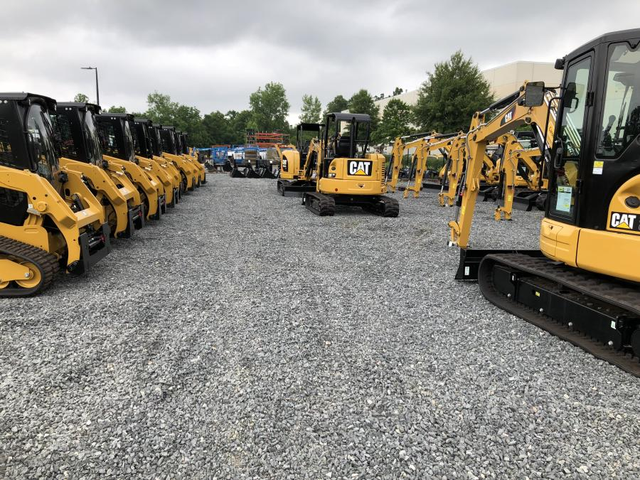 Carolina Cat maintains a large inventory of Caterpillar products to meet its customers' needs.