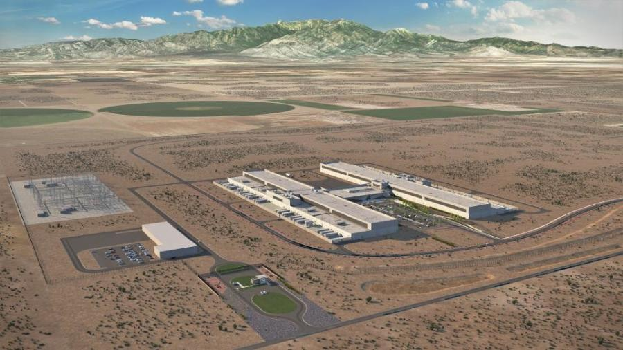 Facebook will begin construction of a 970,000 sq. ft. data center at the Sweetwater Industrial Park in Eagle Mountain, Utah.