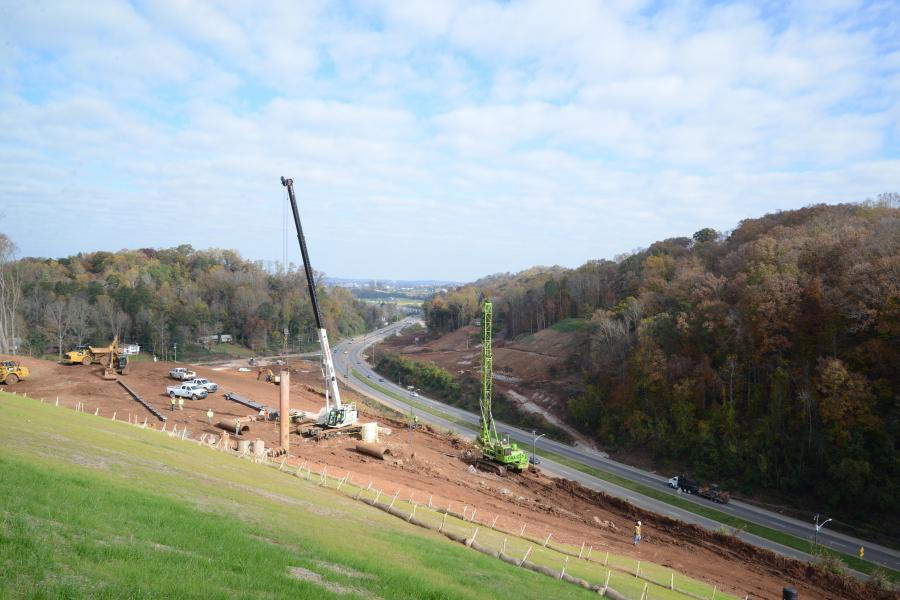 Charles Blalock & Sons of Sevierville, Tenn., was awarded contract for a portion of a multi-phase $71 million contract to realign and improve 1.69 miles of SR115/Alcoa Hwy south of downtown Knoxville, Tenn.