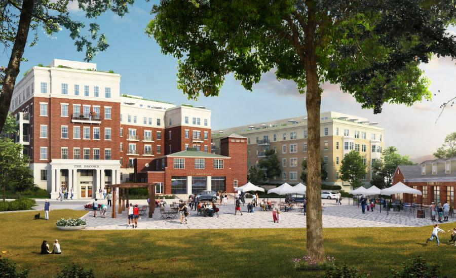 The redevelopment of the Walter Reed Medical Center campus will introduce roughly 250,000 sq. ft. of retail and more than 2,000 units of housing to the neighborhood.