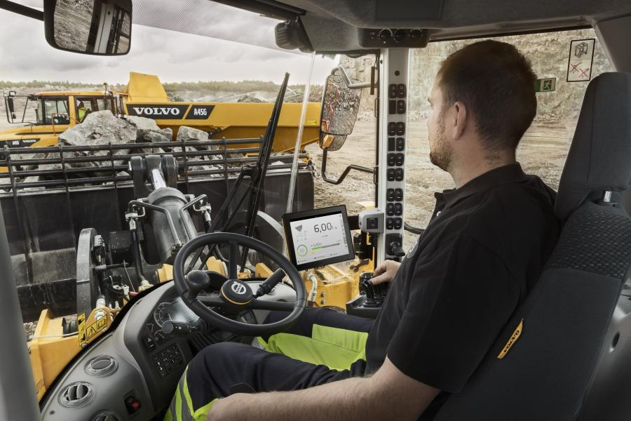 The updated load assist, on-board weighing, from Volvo Construction Equipment provides payload accuracy within ± 1 percent on every bucket, while the machine is moving.