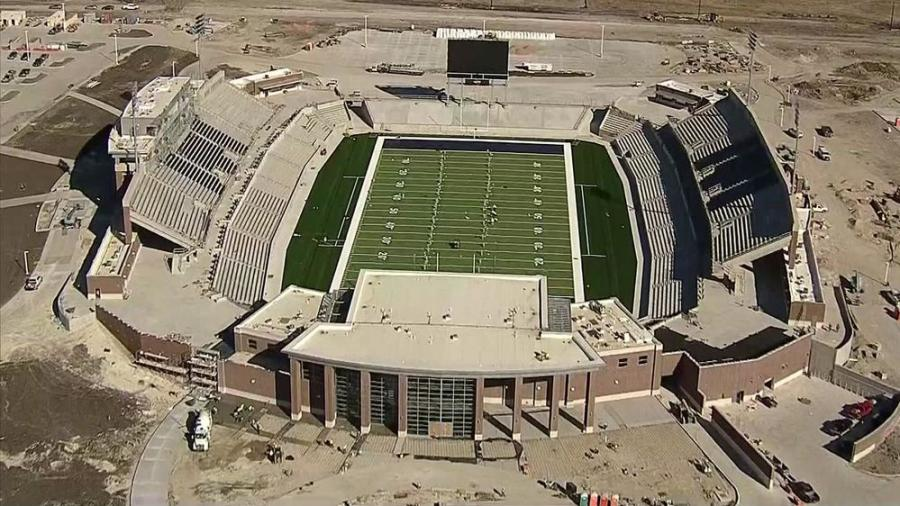 It is easy for arm-chair engineers to decry the failure of a contractor or subcontractor to do flawless work. In fact, the construction of large public structures, such as the McKinney stadium, is a magnificent feat of engineering and design. (Photo Credit: NBC)