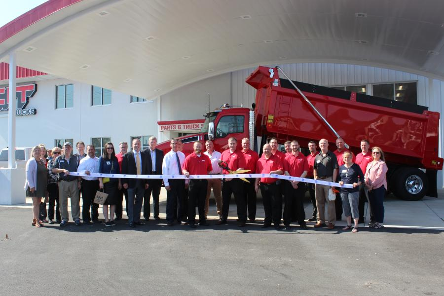 CIT Trucks hosted more than 300 guests at its grand reopening in Fenton, Mo., which included a ribbon-cutting ceremony.