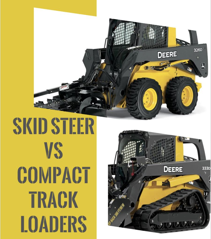 Skid Steer vs  Compact Track Loader | Construction Equipment