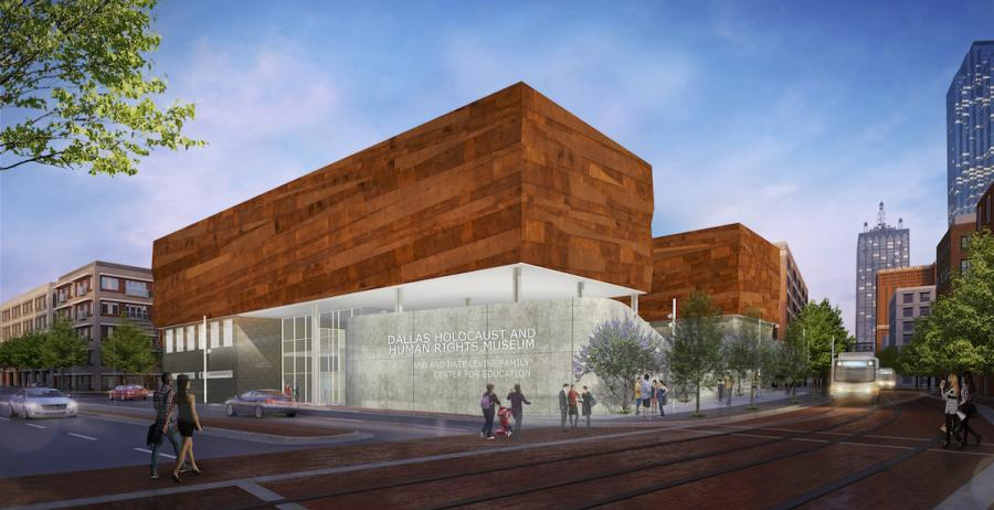 A rendering of the new museum.