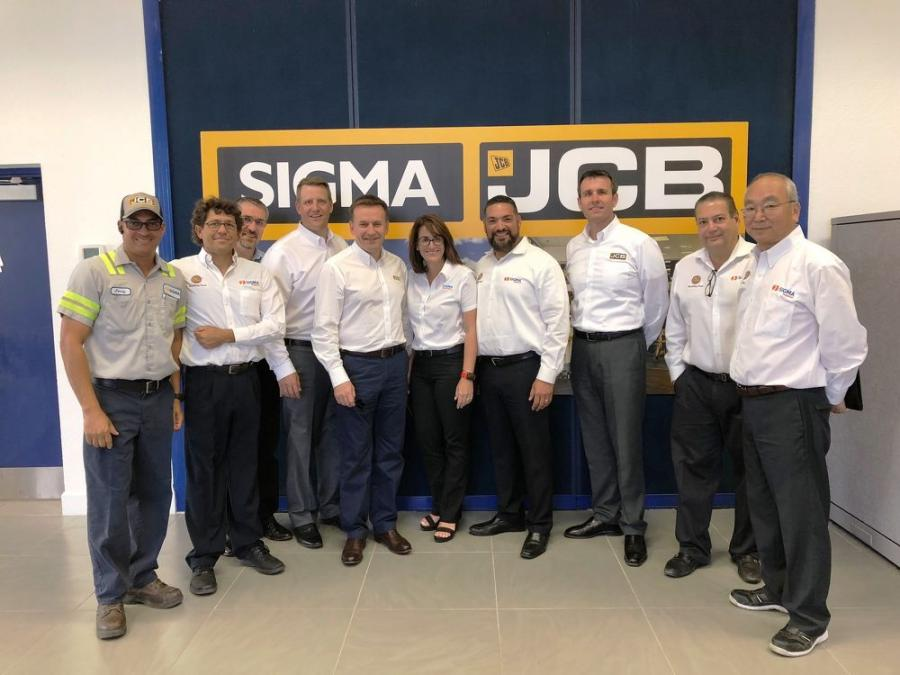 JCB's North American dealer network is expanding with the addition of Sigma JCB, a division of Sigma Equipment.