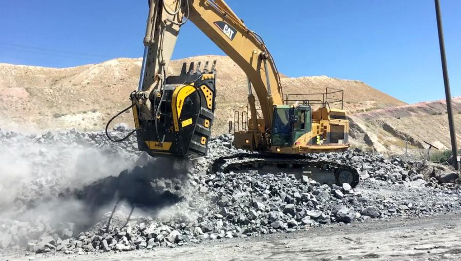 The BF150.10 crusher bucket played a significant role in increasing a major mining company's productivity in gold ore processing. MB Crusher attachments can increase company productivity rates by more than 30 percent.