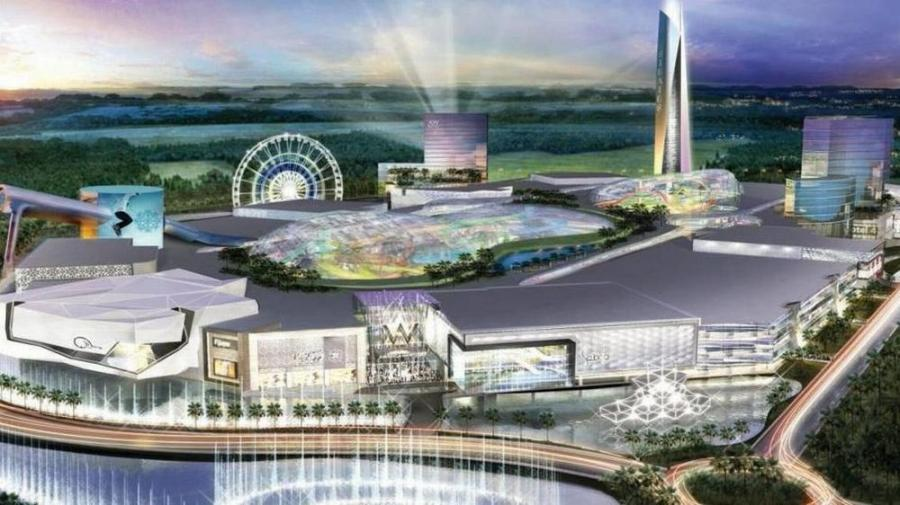 When complete, American Dream Miami will span 6.2 million sq. ft. and will include ample retail and entertainment spaces.