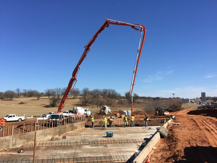 The cost of the project is not to exceed $75 million. Oklahoma Department of Transportation is overseeing the project.