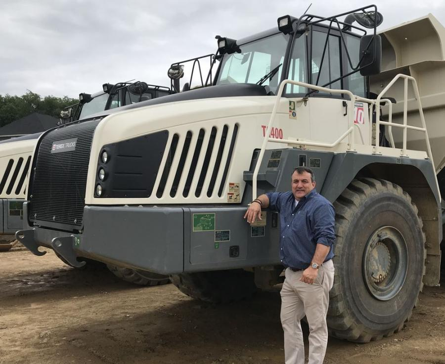 Kevin Clark joined Terex Trucks on April 2, bringing more than 25 years'industry experience with him to the manufacturer.