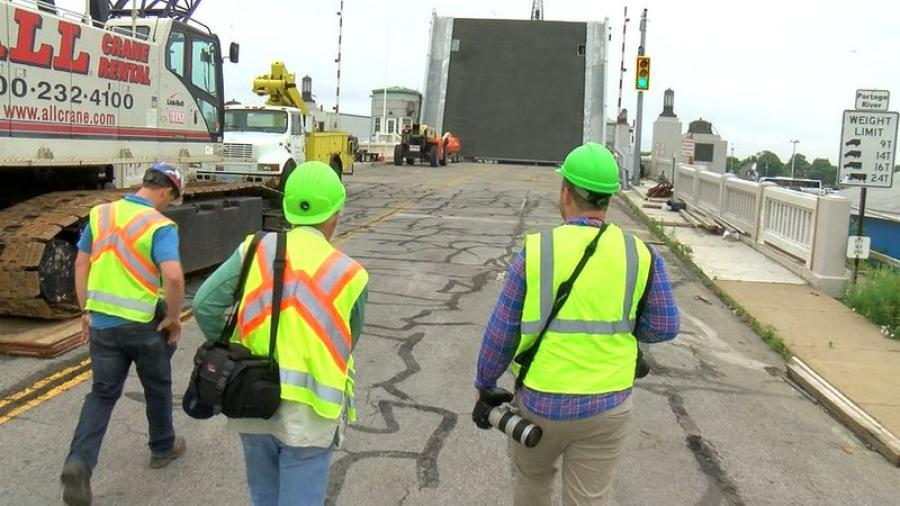 There are approximately 2 weeks of final tests that must be conducted on the Port Clinton Lift Bridge to ensure the bridge runs properly.