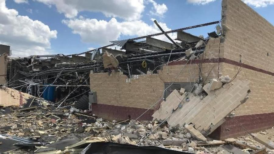 The explosion was reported about 2:30 p.m. June 26 at a construction site at the 25-bed hospital in Gatesville, 36 miles west of Waco.