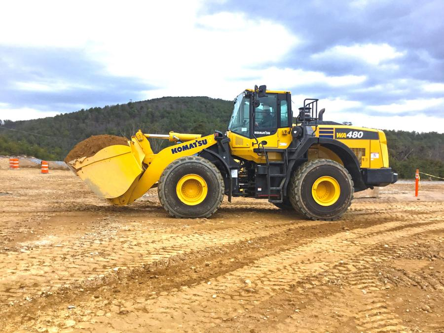 The WA480-8 is the perfect tool for quarry, infrastructure and non-residential construction applications, according to Craig McGinnis, product marketing manager, Komatsu America.