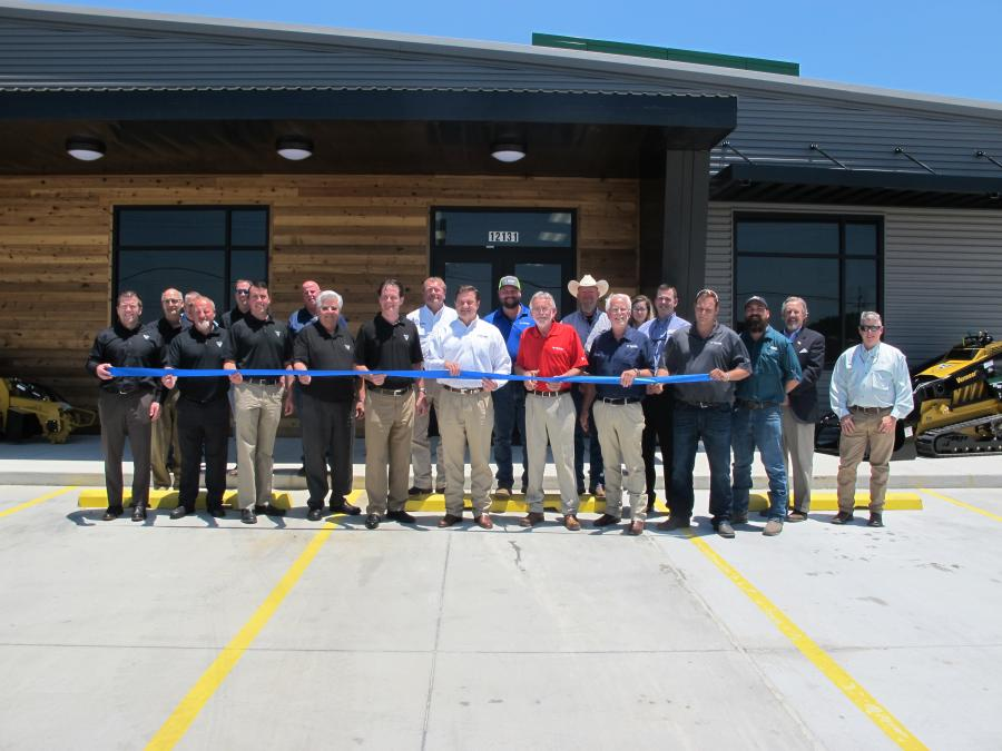 Vermeer Texas-Louisiana celebrated the grand opening of its relocated Baton Rouge branch on May 17.