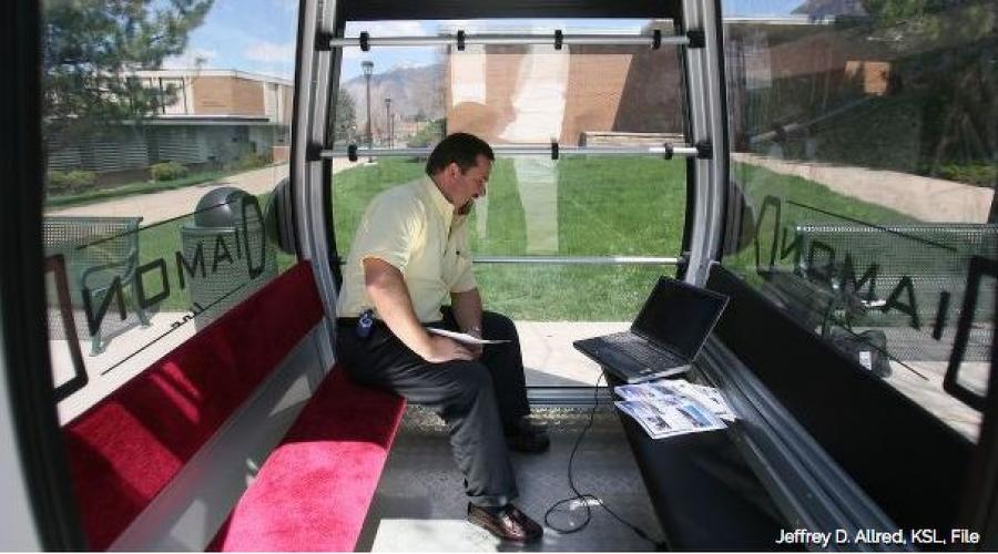 A plan for an urban gondola is in consultant Stuart Reid's Weber County Prosperity Plan.