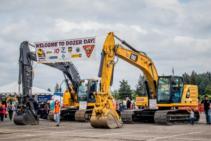 Many local construction equipment dealers were sponsors of the event.