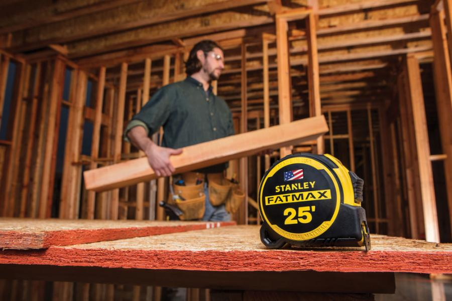The 2018 Stanley FATMAX Tape Measure is a new design with 13 ft. of straighter blade stand out*, a baseball-inspired grip, and the longest-lasting blade coating ever applied to a FATMAX tape measure.