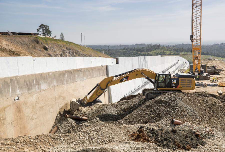 The second phase of the Oroville Dam spillway repair project will constitute the bulk of work on the lake's spillways. Construction is expected to conclude by the end of 2019.