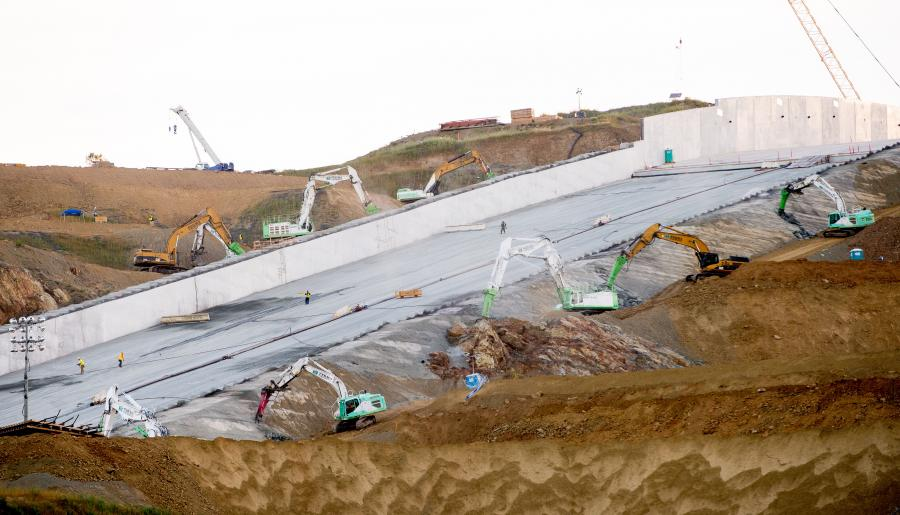 Kiewit Leads Phase II of Oroville Dam Spillway Repairs