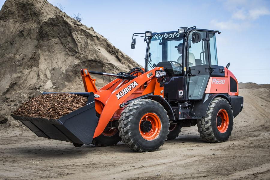 Standard 4-wheel drive, 100 percent on-demand differential lock and rear frame oscillation provide increased traction, ride and stability on both Kubota R Series models, according to the manufacturer.