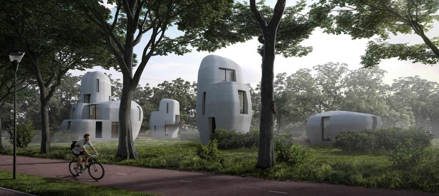 When complete, the planned community, known as Project Milestone, will be the first 3D-printed commercial housing project the world has seen, NBC News reported. (Photo Credit: Project Milestone)