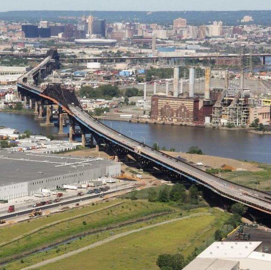 The Pulaski Skyway
