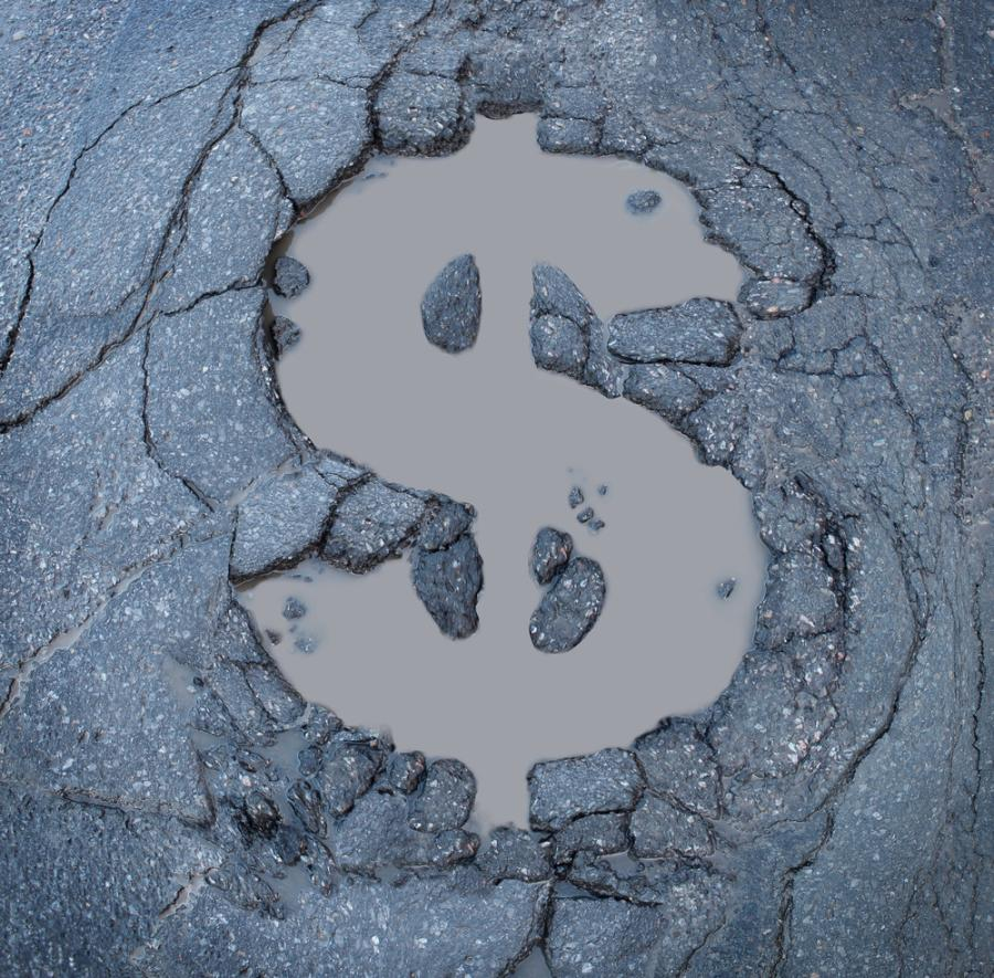 $180 million will be used for pothole and pavement repairs needed after a tough winter.
