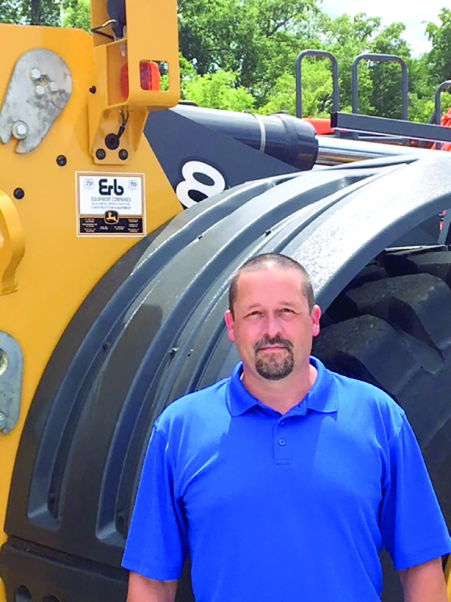 Bill Haner brings more than 20 years of industry experience to Erb Equipment.