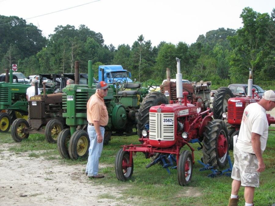 An amazing barn find provided a great selection of antique farm tractors, farm items, mule plows and other antiques at this sale.