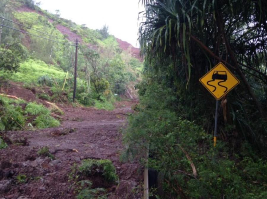 The Hawaii Department of Transportation issued an emergency contract on June 19 for additional flood repair work on the Kuhio Highway.