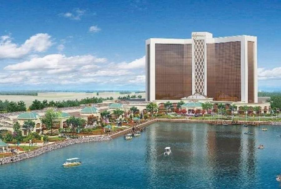 Wynn Resorts has removed nearly 1 million tons of contaminated sediment from the former chemical plant site where it's building a $2.5 billion Boston-area casino.
