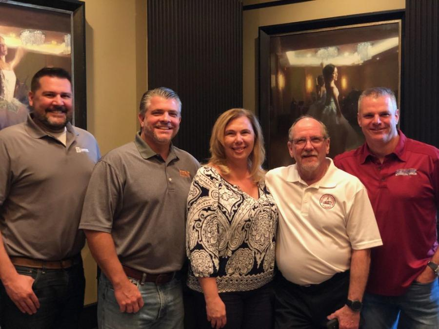 our new officers were elected to the Steel Erectors Association of America's Board of Directors during the July Board Meeting held in Orlando, Fla.