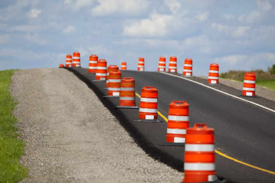 Work has begun on a major U.S. 97 improvement project.