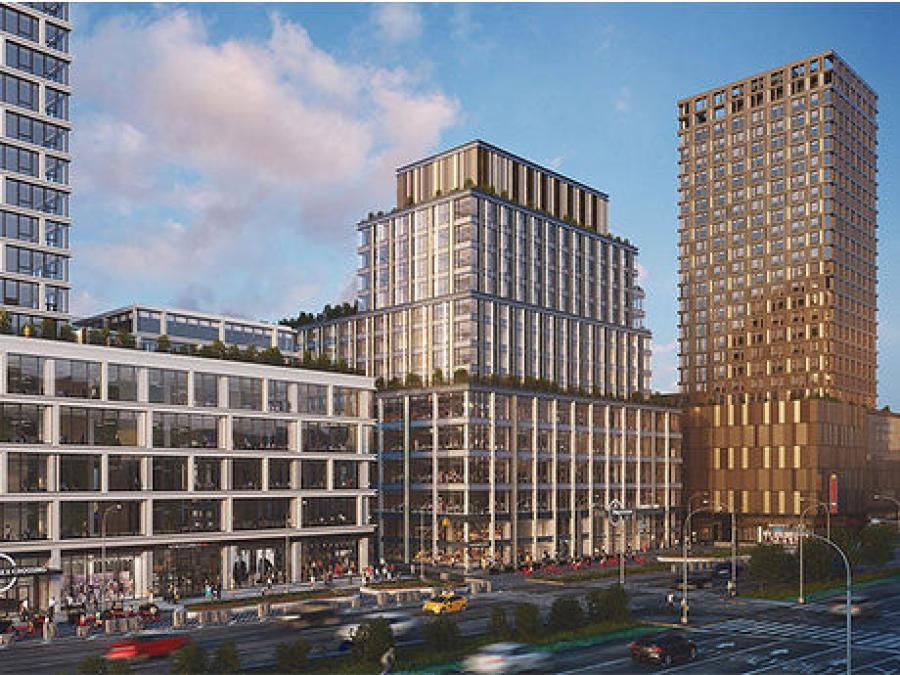 A Rendering 202 Broome Street at Essex Crossing in Manhattan.  (Delancey Street Associates photo)