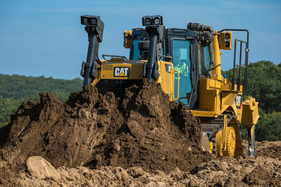 The new D8T moves up to 18 percent more material per hour than the previous model, while using about the same amount of fuel, representing a significant fuel efficiency gain.