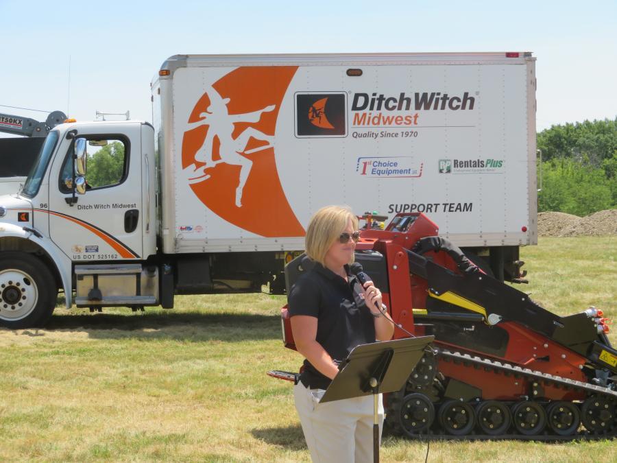 Ditch Witch, Schramm Break Ground on New Facility