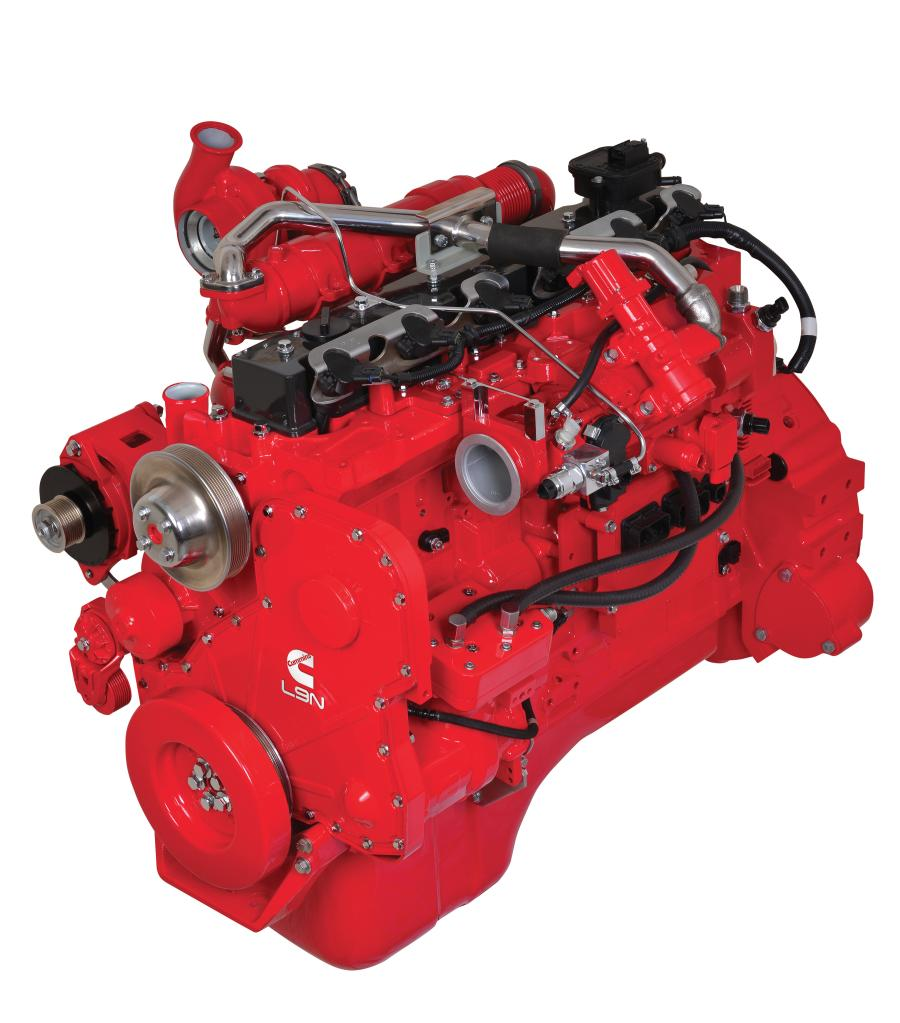 The L9N engine is certified to the California Air Resources Board (CARB) optional low NOx standard of 0.02 g/bhp-hr.